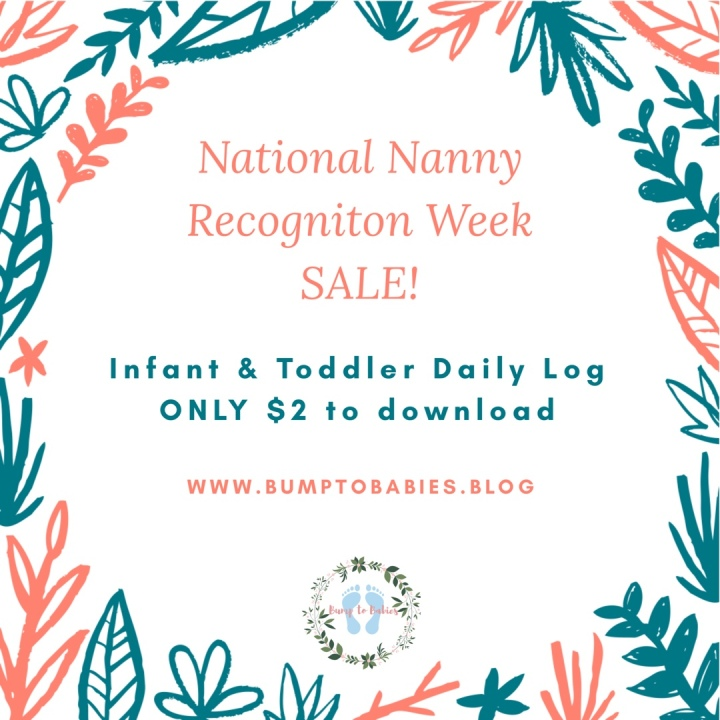 National Nanny Recognition Week SALE!!